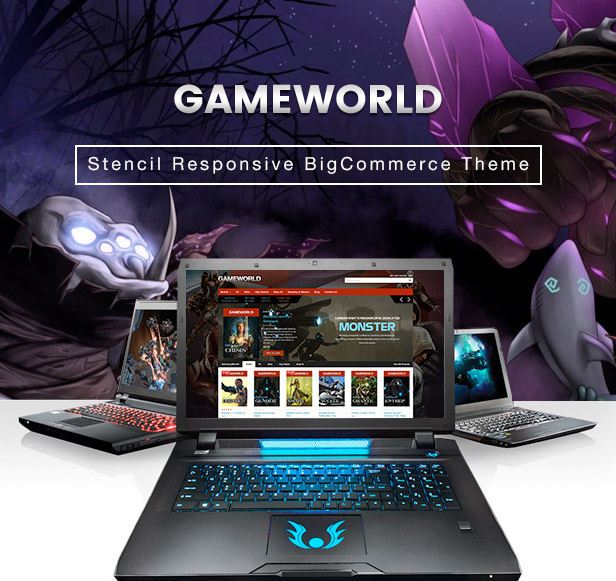 Gameworld Stencil Responsive BigCommerce Theme