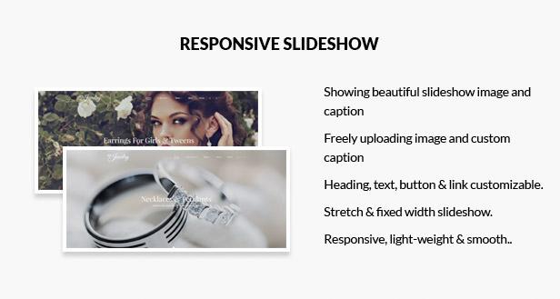 Fullwidth responsive slideshow