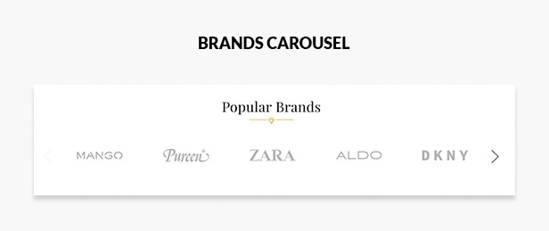 Brands carousel slider