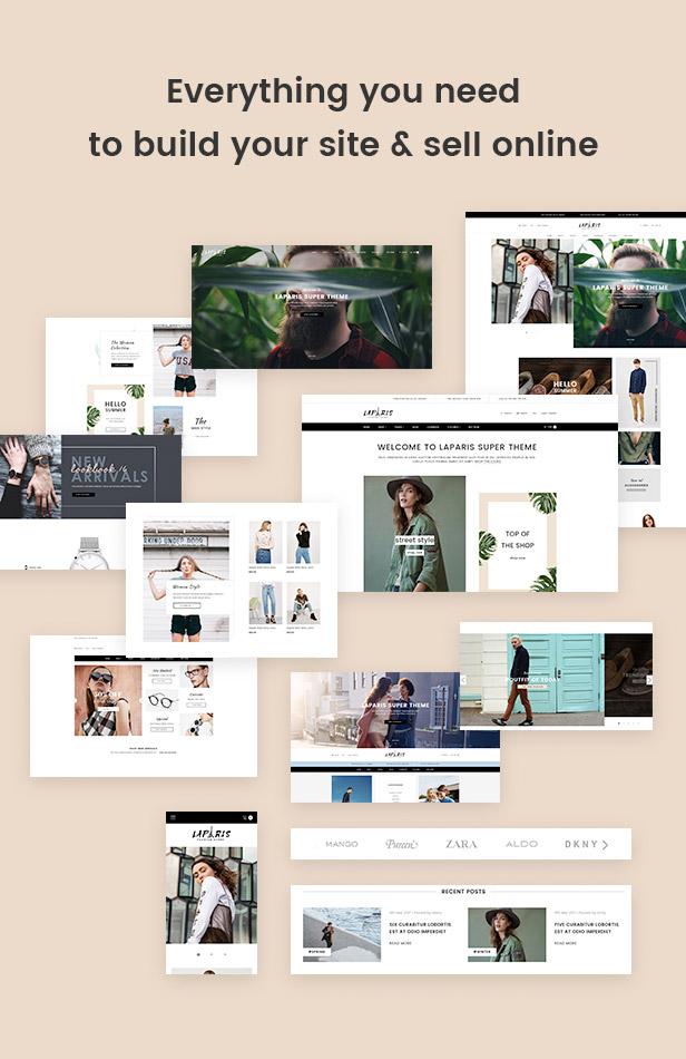 everything for e-commerce website