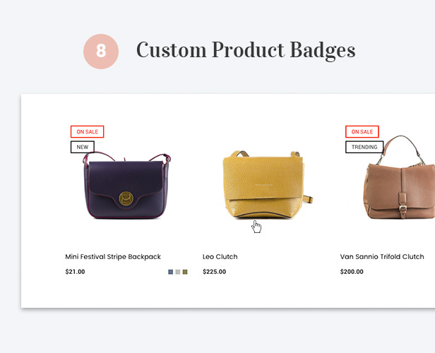 Custom Product Badges