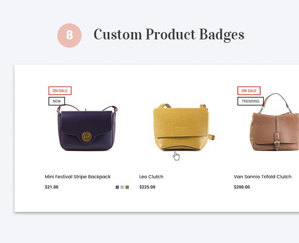 Custom Product Badges