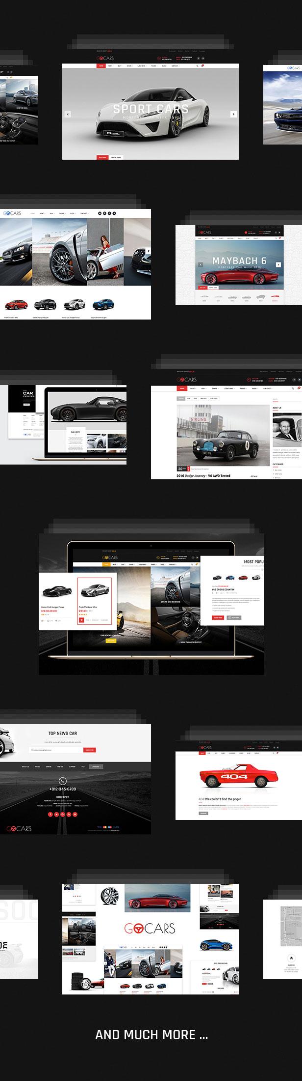 Modern design for cars market