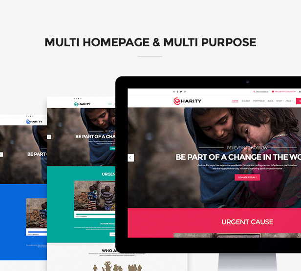 Multi-Homepages & Multi-purposes