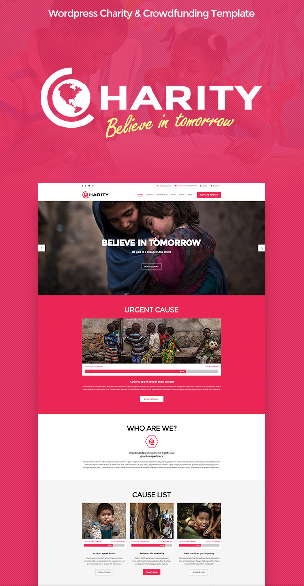 HTML Template WPDance Charity