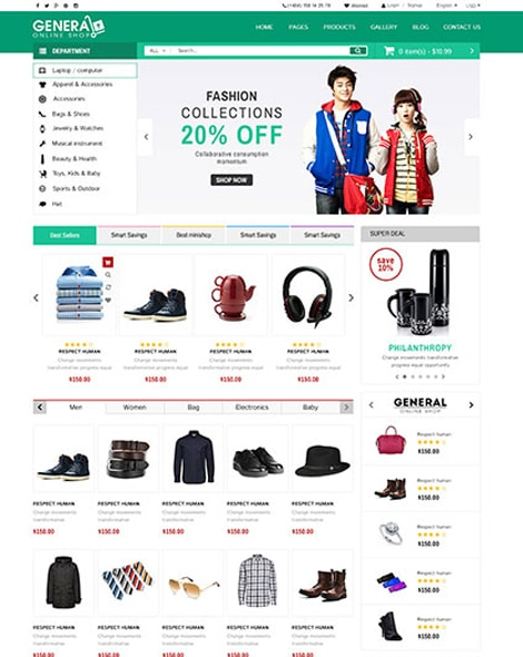 Supermarket HTML Template