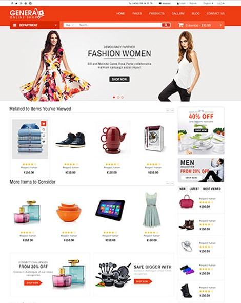 Target Market HTML Template