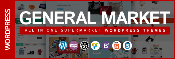 WordPress Theme WPDance General Market