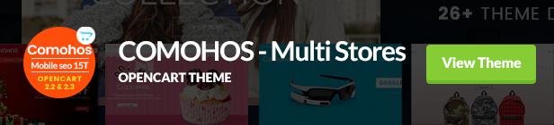 Comohos OpenCart Theme