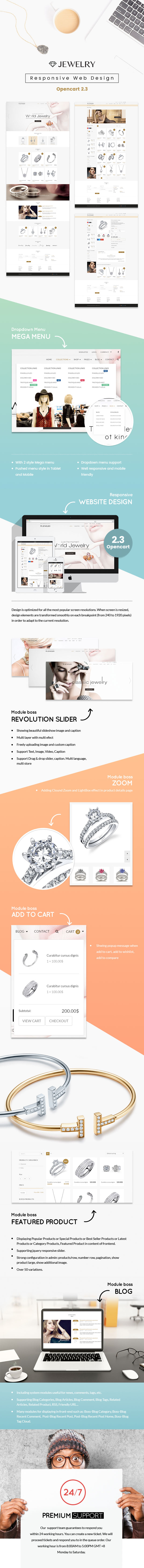 Jewelry Opencart Theme