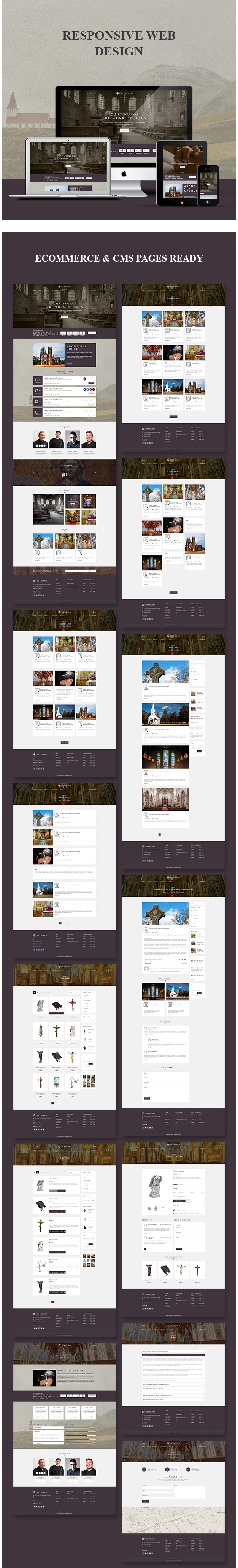Church - Woocommerce WordPress Theme