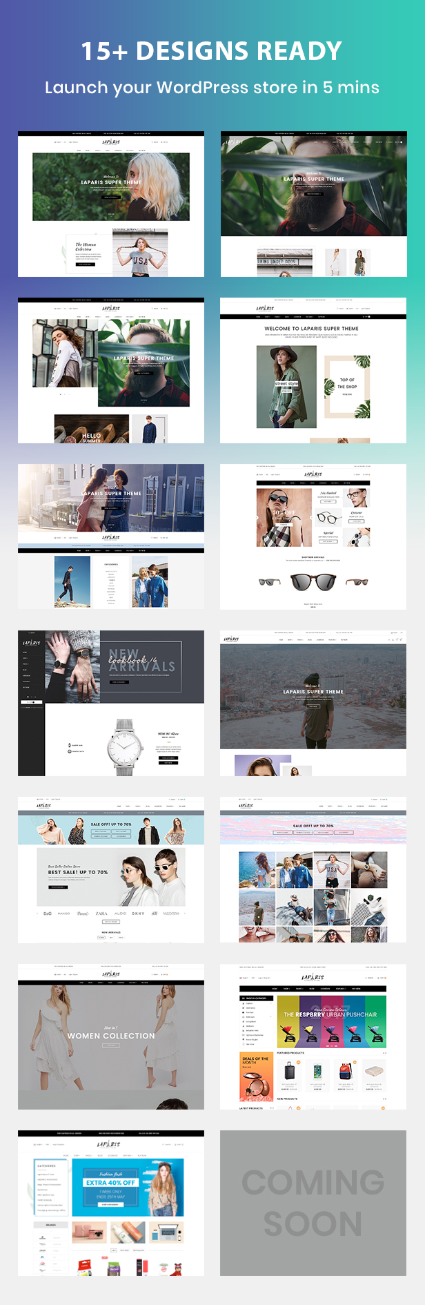 Laparis WordPress Theme