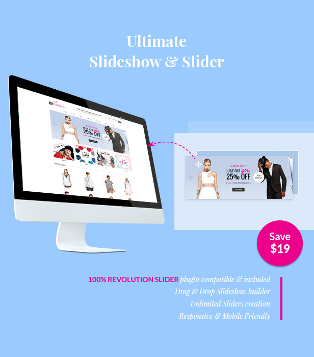 Simple Fashion WooCommerce Theme - WP Clara eCommerce